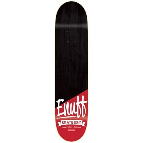 Enuff Deck: Dip Stained Black Red 8.0