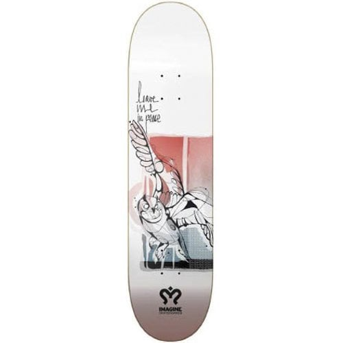 Imagine Skateboards Deck: Owl 8.5