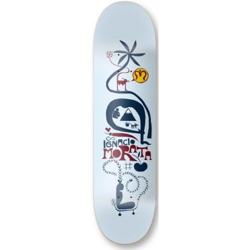 Imagine Skateboards Deck: Morata Soul 8.3