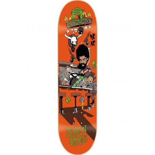 Sk8Mafia Deck: James Fun 8