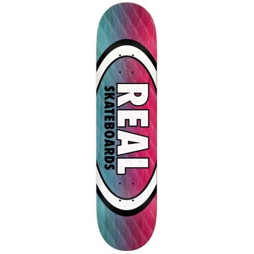Real Deck: Parallel Fade Oval 8.25