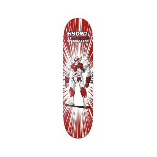 Hydroponic Deck: Robot - 02 Red Metal 8.25