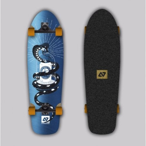 Complete Cruiser Hydroponic: Polar Metal Tattoo Surf Skate 31 x 9
