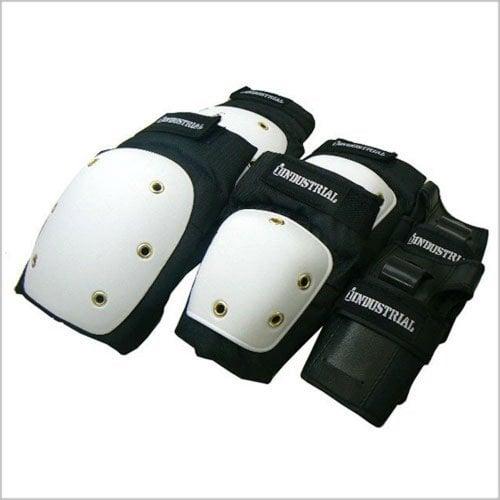 Protektoren Industrial: Pad Set 3 in 1 White