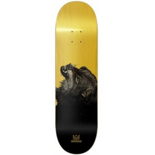 Nomad Deck: The Wolf Deck - Gold 8.25