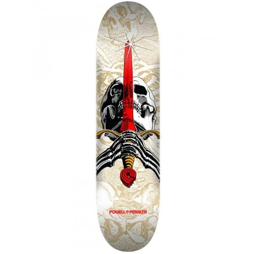 Foundation Powell Peralta: Skull & Sword One Off White 7.5