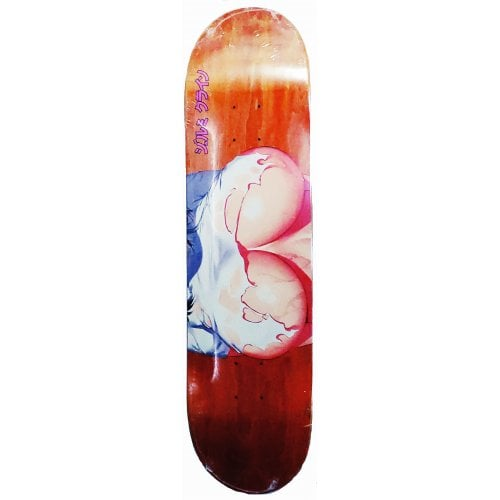 Hook-Ups Deck: Torn Orange 8.25