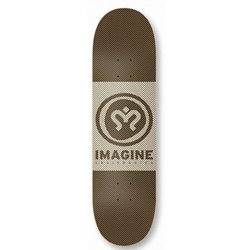 Imagine Skateboards Deck: Hipnotic 8.3
