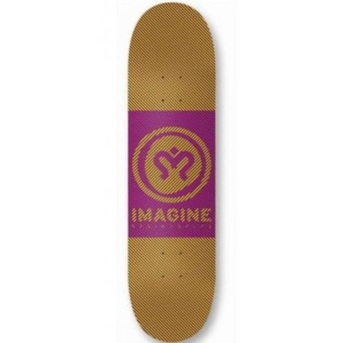 Imagine Skateboards Deck: Hipnotic 8.5
