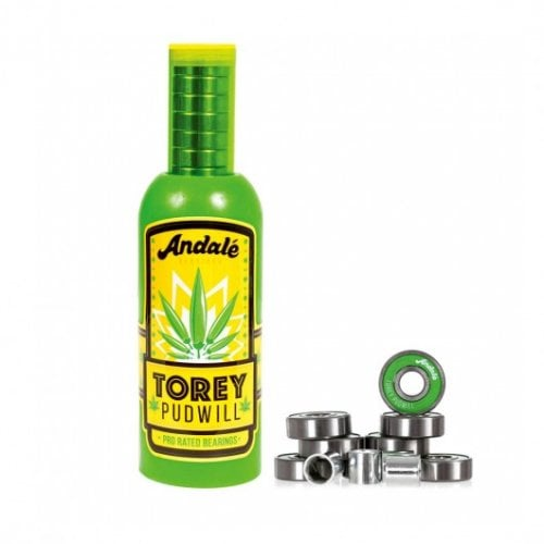 Andale Kugellagers: Torey Pudwill Green Hot Sauce Wax & Pro Rated Bearings