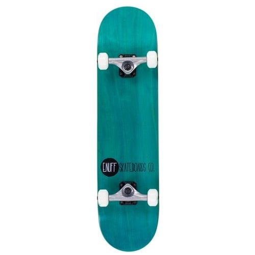 Enuff Komplettboards: Logo Stain Teal 7.75