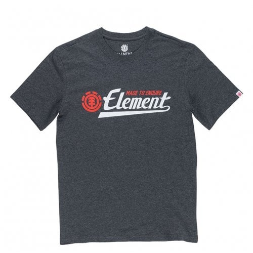Element T-Shirt: Signature SS Charcoal Heather GR
