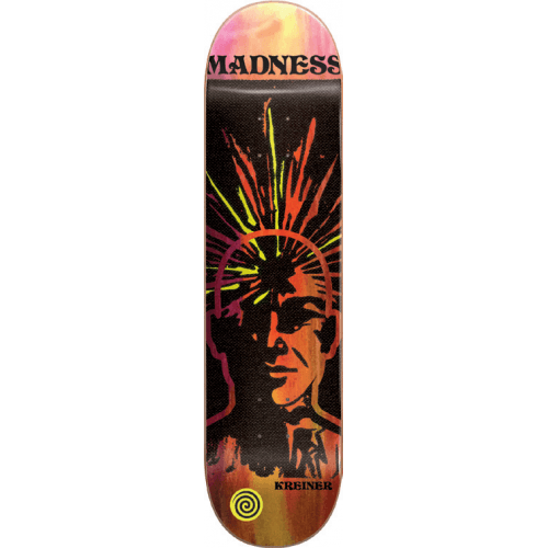 Madness Skateboarding Deck: Expanded R7 Clay Kreiner 8.25