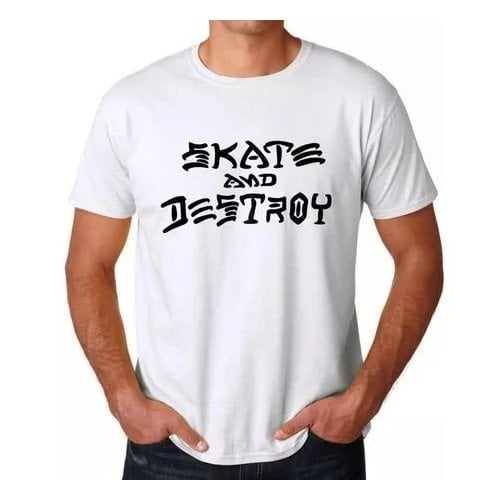 Thrasher T-shirt: Skate and Destroy WH