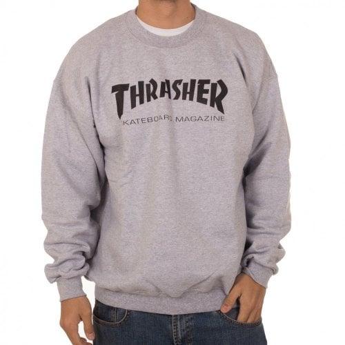 Thrasher Hoodie: Skate Mag Crew GR