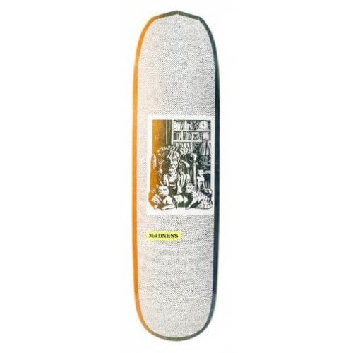 Madness Skateboarding Deck: Desiree White R7 8.3