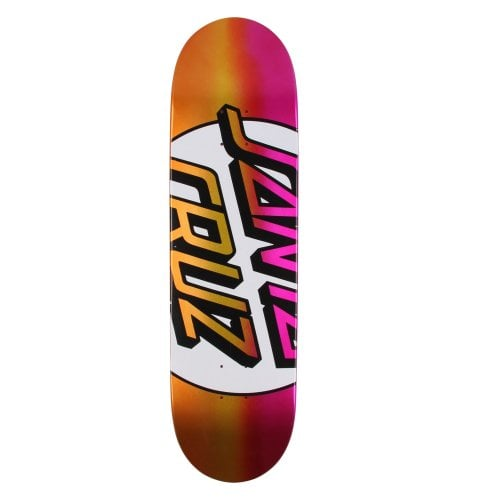 Santa Cruz Skateboards Deck: Big Missing Dot Taper Tip 8.5