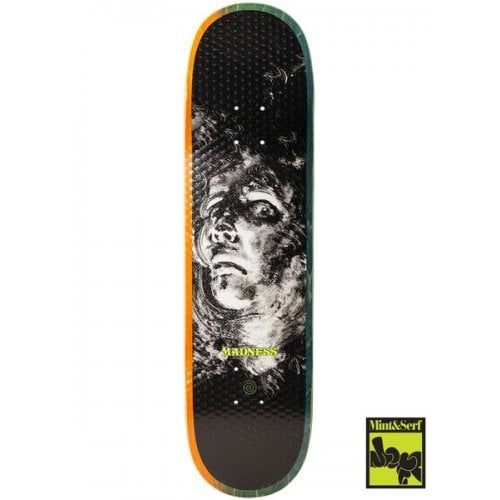 Madness Skateboarding Deck: Mint&Serf Dispair Kreiner R7 8.25