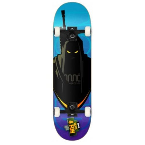 Nomad Komplettboard: No-Skate4fun Shadow 8.0
