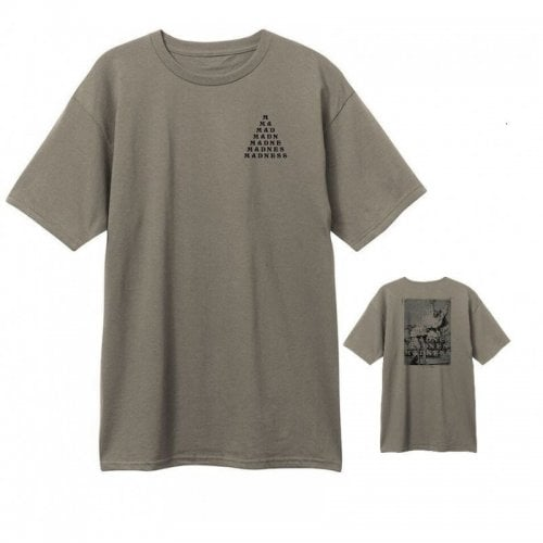 Madness T-shirt: Trickle Down Premium Warm Grey GN