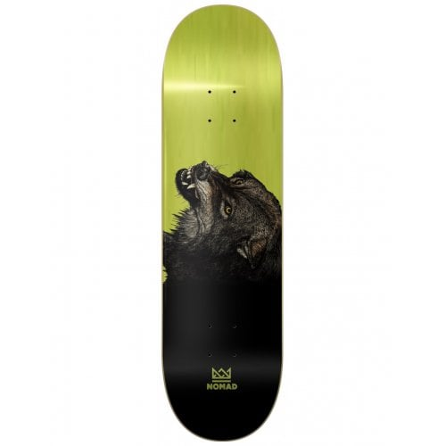 Nomad Deck: The Wolf Deck Lime 8.5