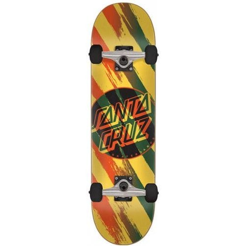 Santa Cruz Komplettboard: Brush Dot 8.0