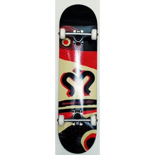 Imagine Komplettboard: Torn Black Red 8.0