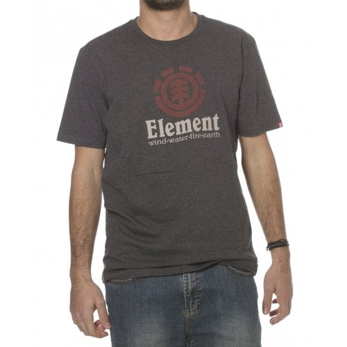 Element  T-shirt: Vertical SS Charcoal GR