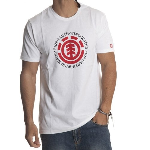 Element  T-shirt: Seal SS Optic WH