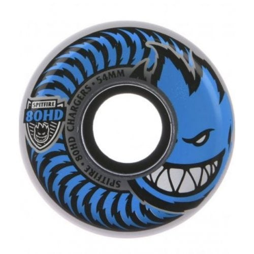 Spitfire Rollen: Chargers Conical Clear 80HD (54mm)