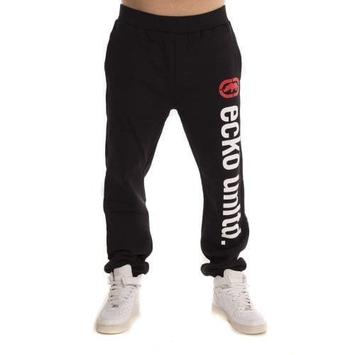 Ecko Hose: 2 Face Sweatpants Black BK