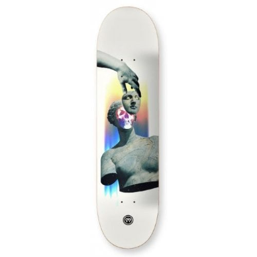 Imagine Skateboards Deck: Sculpture Skull 8.2