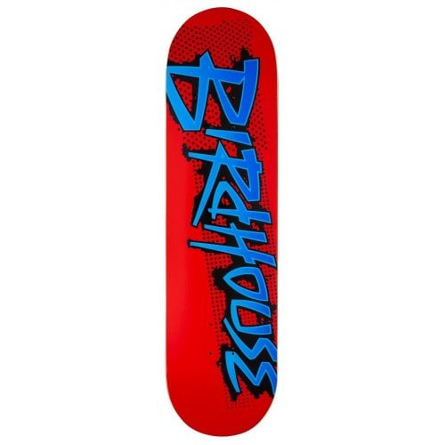 Deck Birdhouse: Splatter Logo Red 8.25