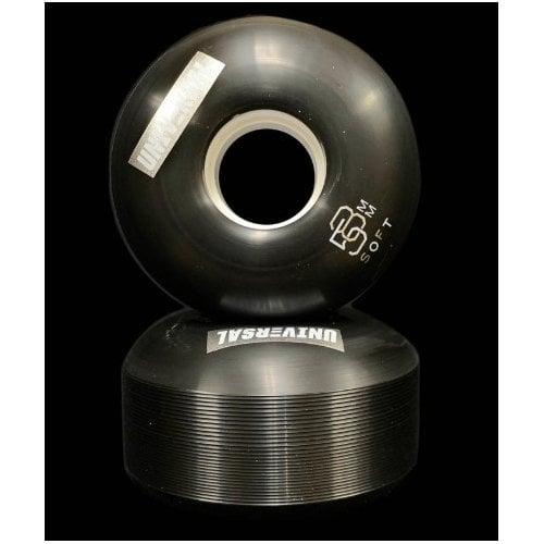 Universal Rollen: Metallic 2 Soft Black (58mm - 85A)