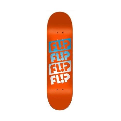 Flip Deck: Team Quattro Faded Orange 8.45