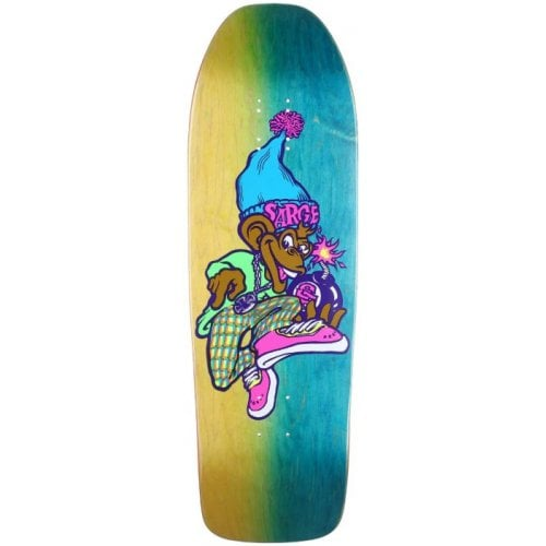 New Deal Deck: Sargent Monkey Bomber Neon 9.625