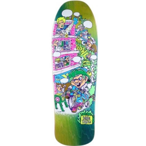 New Deal Deck: Howell Tricycle Kid Neon HT 9.625