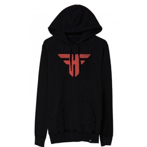 Fallen Hoodie: Trademark Black/Red