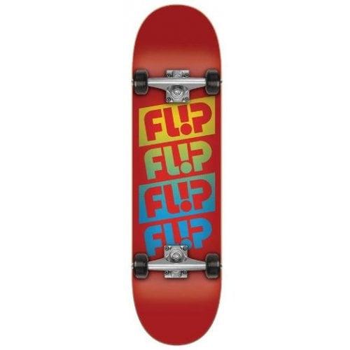 Flip Komplettboard: Team Quattro Red 7.88