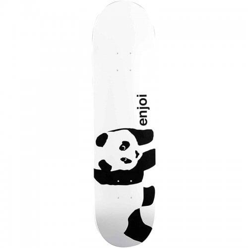 Enjoi Deck: Whitey Panda Logo Wide R7 8.0x31.6