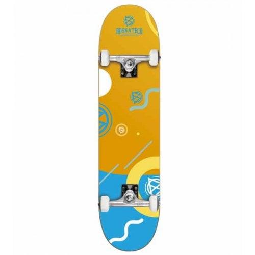 BDSkate Komplettboards: Memphis Orange 8.0