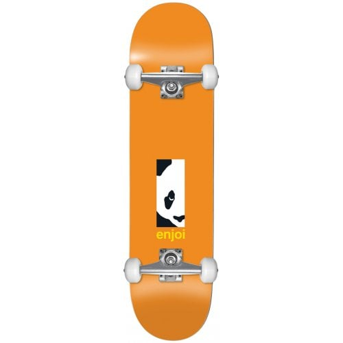 Enjoi Komplettboard: Box Panda FP Orange 8.125x31.7