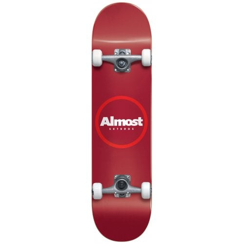 Almost Komplettboard: Red Ringer Yth FP Red 7.25x29.2