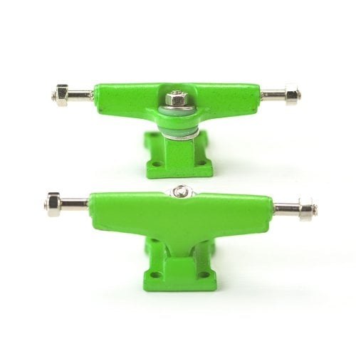 Fingerboard Trucks Bollie: Color Line Green