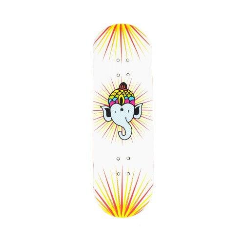Fingerboard  Bollie Deck: Logo White 30.5mm