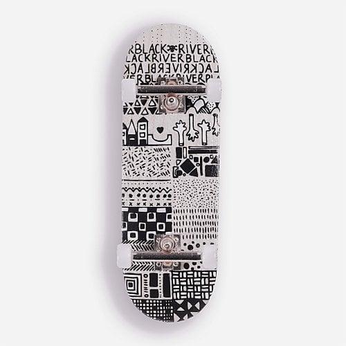 Complete Fingerboard BerlinWood: BR en Voyage Mini Pattern Set Wide 32mm