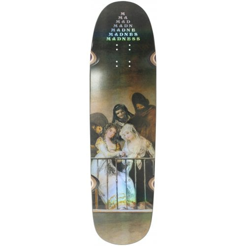 Madness Skateboarding Deck: Creeper R7 Holographic 8.5x31.9