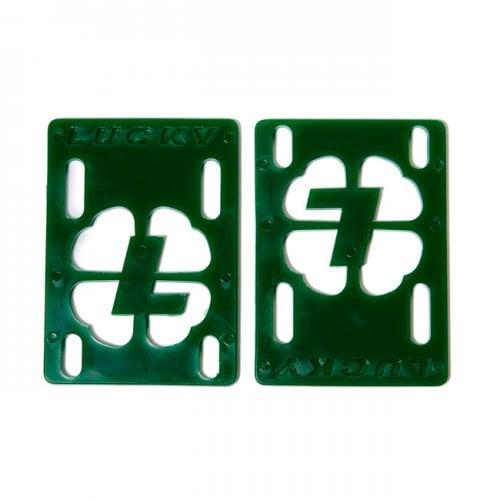 """Lucky Riser Pads: Risers 1/8"""" Green"""