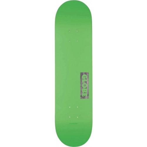 Globe Deck: Goodstock Neon Green 8.0