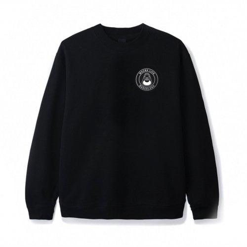 Macba Life Sweatshirt : OG Logo Crew BK